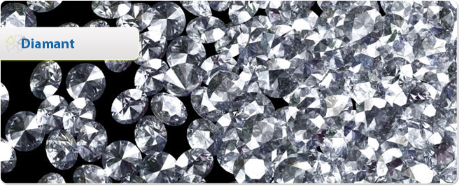 Kristallen en edelstenen Edelsteen Diamant - uitleg door paragnosten